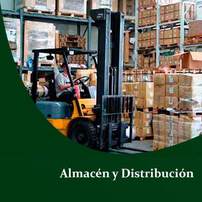 almacén y distribución de mercancías Agencia Aduanal DG Mexico
