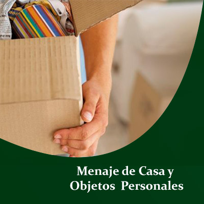 Agencia Aduanal para liberar Menaje de Casa , Agencia Aduanal para liberar Efectos Personales